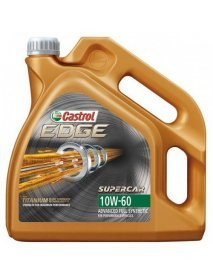 Масло Castrol EDGE SUPERCAR 10W60