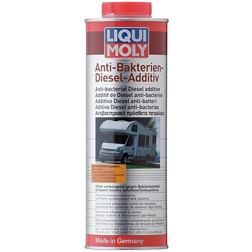 Добавка Liqui Moly против бактерии в дизеловия двигател