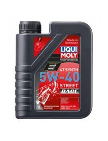 Масло Liqui Moly 4T Synth 5W40 Street Race