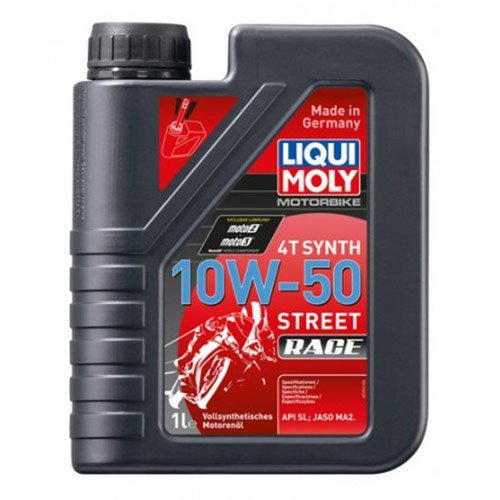 Масло Liqui Moly 4T Synth 10W50 Street Race