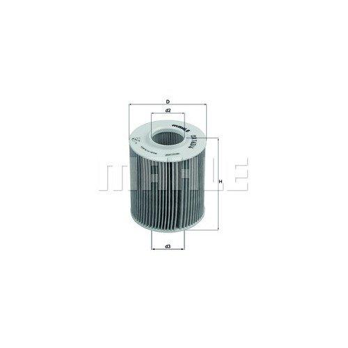 Маслен филтър MAHLE OX163/4D 70372113 за Honda, Opel