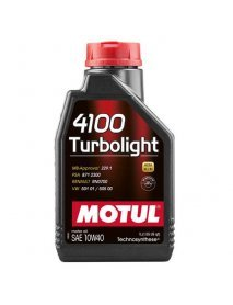 Масло MOTUL 4100 Turbolight 10W40