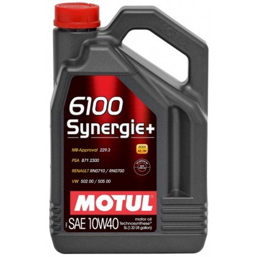 Масло MOTUL 6100 Synergie+ 10W40