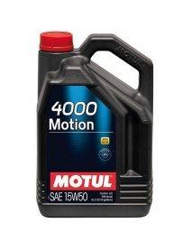 Масло MOTUL 4000 Motion 15W50