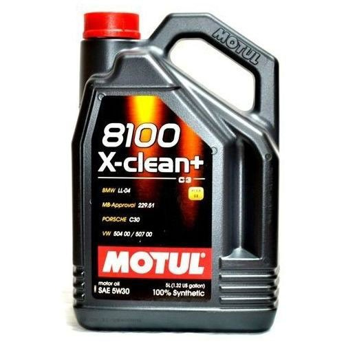 Масло MOTUL 8100 X-clean+ 5W-30