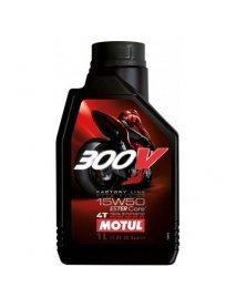 Масло MOTUL 300V FACTORY LINE 4T 15W50
