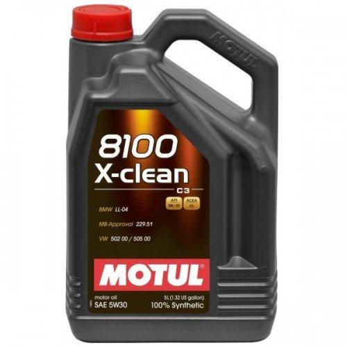 Масло MOTUL 8100 X-clean 5W-30 C3