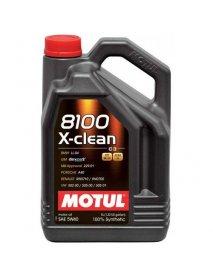 Масло MOTUL 8100 X-clean 5W-40