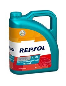 Масло Repsol ELITE COSMOS HIGH PERFORMANCE 0W40