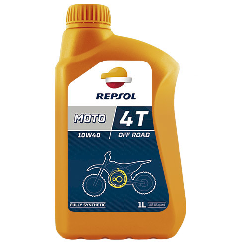 Масло Repsol MOTO Offroad 4T 10W40