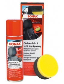 Препарат за импрегниране на гюруци и автомобилен текстил SONAX