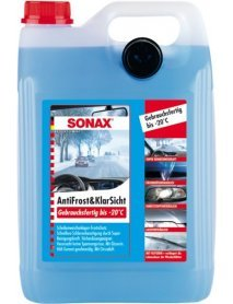 Зимна течност за чистачки SONAX, готова за употреба -20°С (5л)