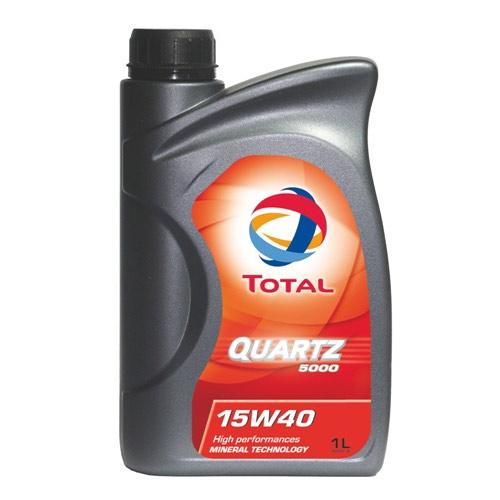 Масло TOTAL QUARTZ 5000 15W40